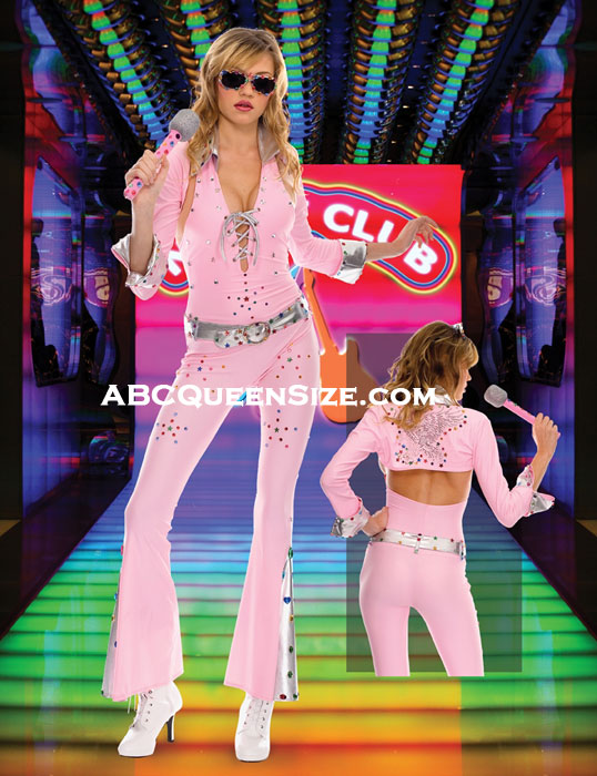 Vegas Rock Star Costume-Closeout