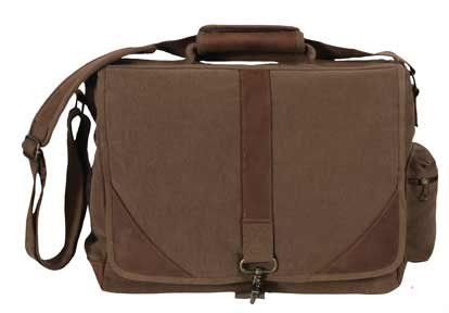 Brown Vintage Urban Pioneer Laptop Bag