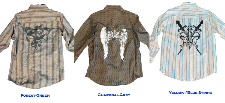 Vintage Long Sleeve Dress Shirt - Clearance