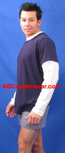 Vintage Long Sleeve Combo Shirt - CO