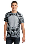 Window Tie Dye T-shirt Black Unisex