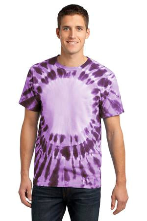 Window Tie Dye T-shirt Purple Unisex