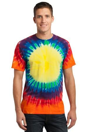 Window Tie Dye T-shirt Rainbow Unisex