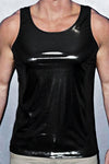 YMLA Liquid Black Tank Top
