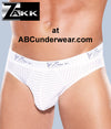Zakk Striped Lycra Brief