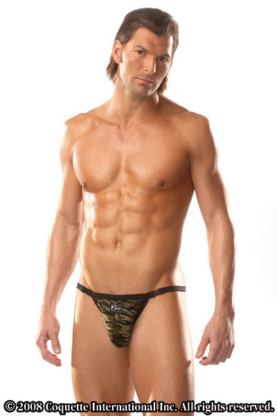 Side Clasp Thong for Men