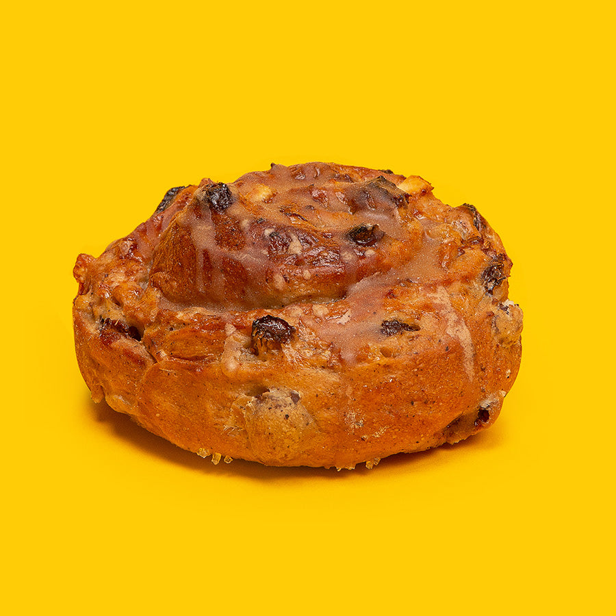Buns Viennois aux Raisins, Orange & Muscade