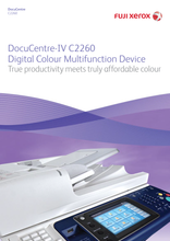 Load image into Gallery viewer, Refurblish - Fuji Xerox DocuCentre-IV C2260 (A3 Printer)