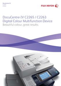 Refurblish - Fuji Xerox DocuCentre SC2265 (A3 Printer)