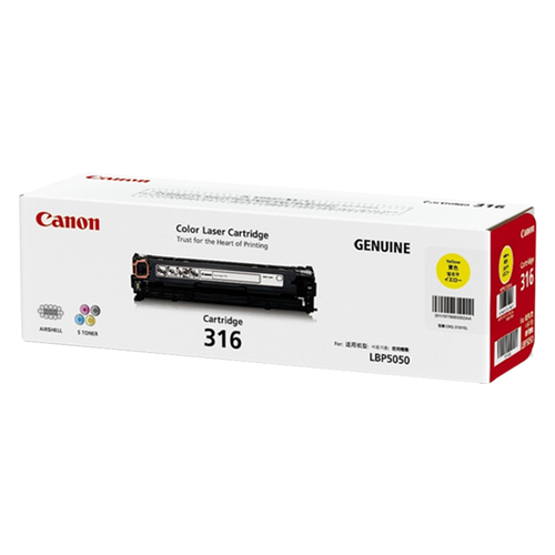 Canon 316 Toner Cartridge For LBP5050N (Yellow)