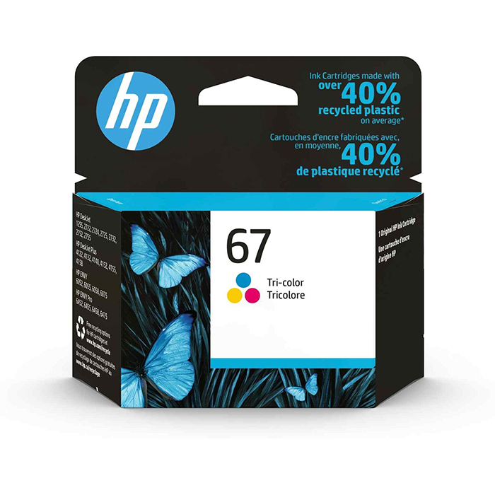 3YM55AA - HP 67 Tri-color Original Ink Cartridge