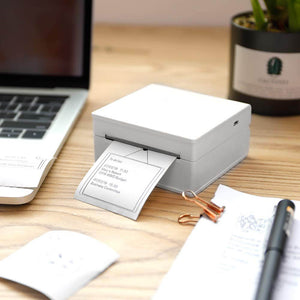Portable Thermal Printer I Printeet M02 (Matt White)