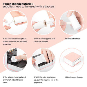 Regular Sticker Thermal Paper (Keep file for 2years)
