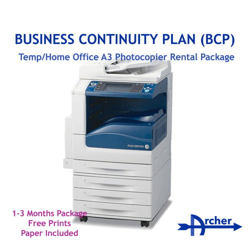 BCP Temp/Home Office Photocopier Rental Package