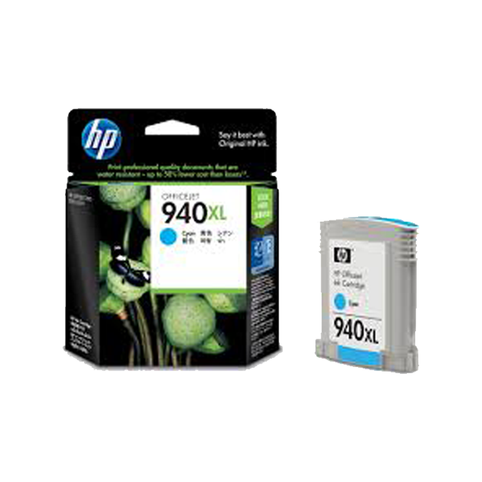 C4907AA - HP 940XL Cyan Officejet Ink Cartridge