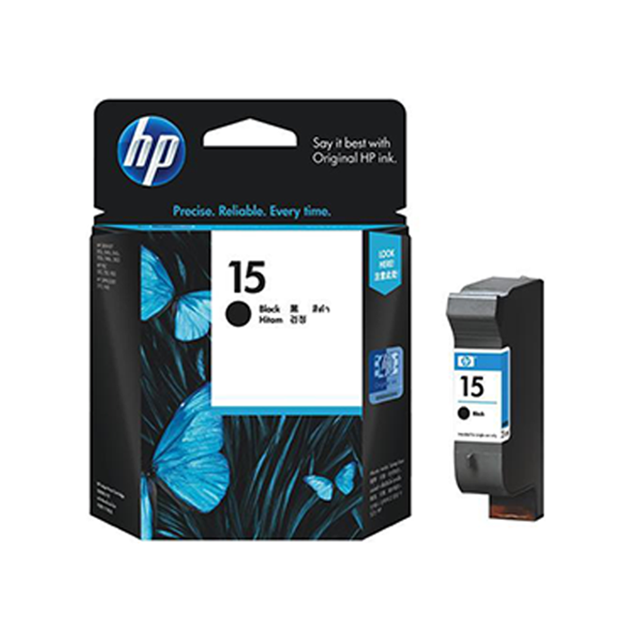 C6615DA - HP 15 Black Ink Cartridge