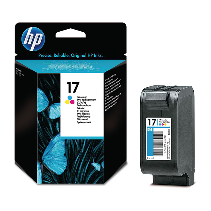 C6625A - HP 17 Tricolor Ink Cartridge