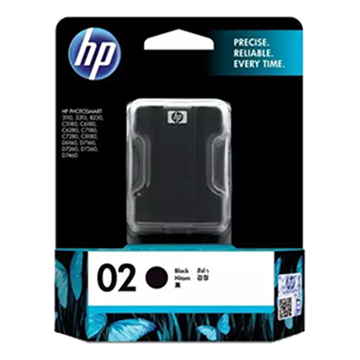 C8721WA - HP 02 AP Black Ink Cartridge