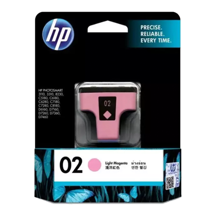 C8775WA - HP 02 AP Light Magenta Ink Cartridge