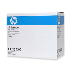 CC364XC HP High Yield Contract Original LaserJet Toner Cartridge (Black)