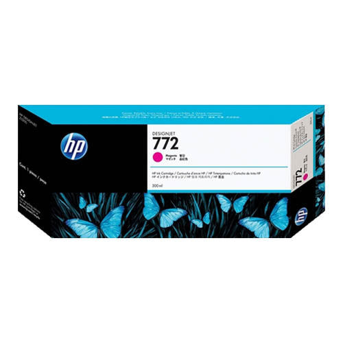 HP 772 CN629A 300ml. Ink Cartridge for  Z5200 / Z5400 (Magenta)