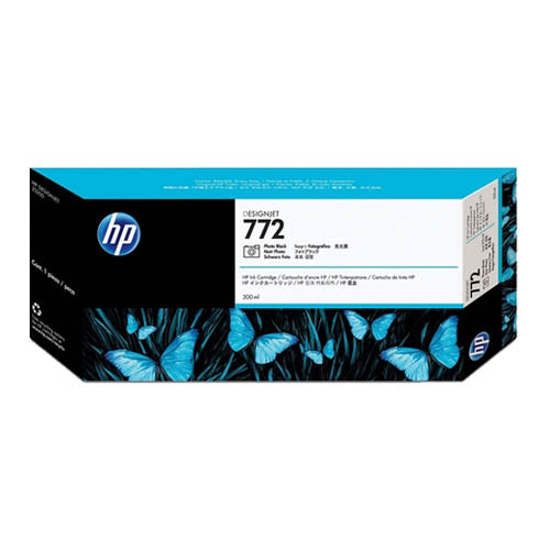 HP 772 CN633A 300ml. Ink Cartridge for  Z5200 / Z5400 (Photo Black)
