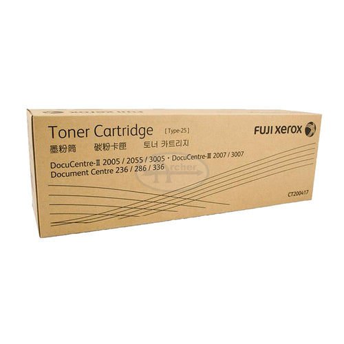 CT200417 Fuji Xerox Toner Cartridge for DC236 / 286 / 336 , DC-II 2005 / 2055 / 3005 , DC-III 2007 / 3007 (Black)