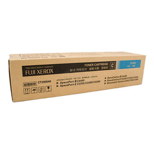 CT200540 Fuji Xerox Toner Cartridge for DC C250 / 360 / 450 , AP/DC-II C2200 / 3300 / 4300 , AP/DC-III C4400 (Cyan)