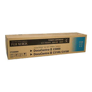 CT200869 Fuji Xerox Toner Cartridge for DC-II C3000 , DC-III C3100 / C4100 (Cyan)