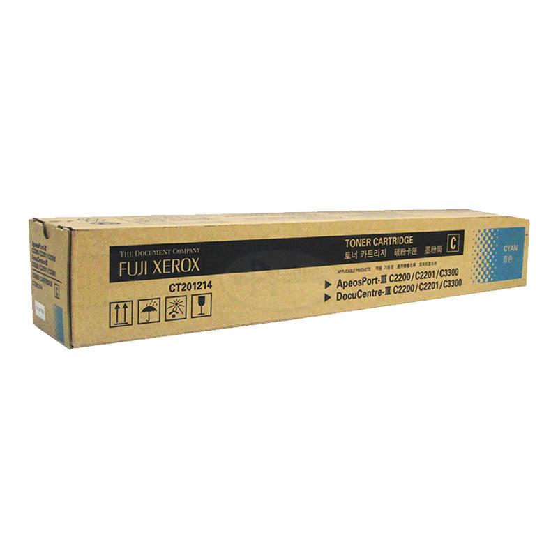 CT201214 Fuji Xerox Toner Cartridge for AP/DC-III C2200 / 2201 / 3300 (Cyan)