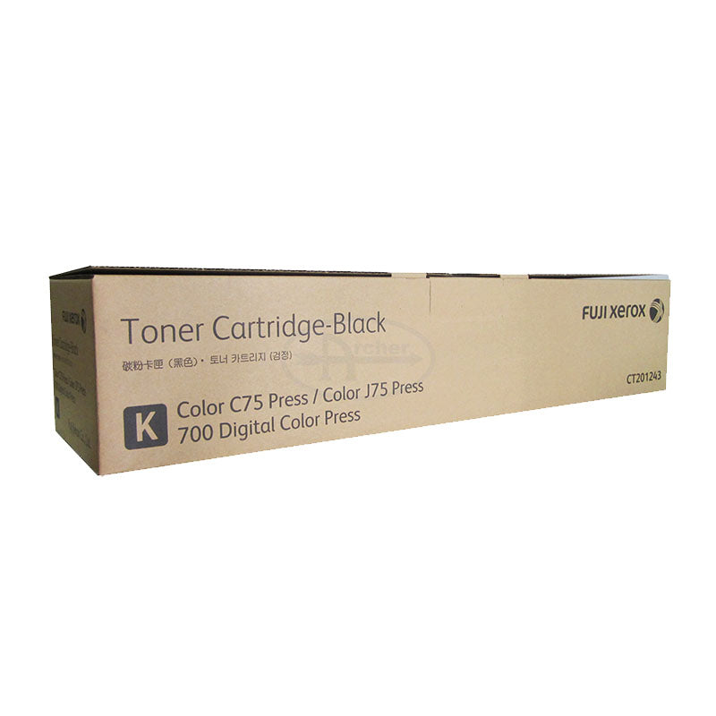 CT201243 Fuji Xerox Toner Cartridge for 700 / 700i / J75 Press (Black)