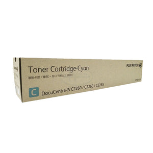CT201435 Fuji Xerox Toner Cartridge for IV C2260 / 2263 / 2265 (Cyan)