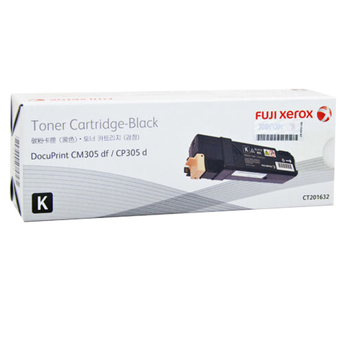 CT201632 Fuji Xerox Toner Cartridge for DocuPrint CM305df / CP305d (Black)