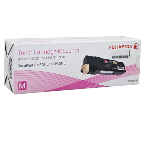 CT201634 Fuji Xerox Toner Cartridge for DocuPrint CM305df / CP305d (Magenta)