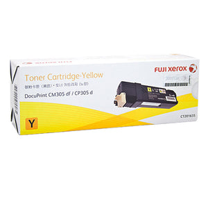 CT201635 Fuji Xerox Toner Cartridge for DocuPrint CM305df / CP305d (Yellow)