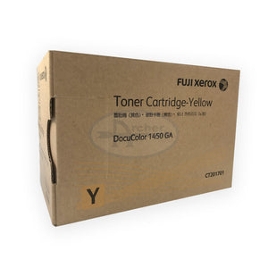 CT201701 Fuji Xerox Toner Cartridge for DocuColor 1450 GA (Yellow)