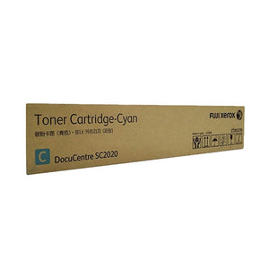CT202239 Fuji Xerox Toner Cartridge for SC2020 (Cyan)