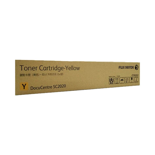 CT202241 Fuji Xerox Toner Cartridge for SC2020 (Yellow)