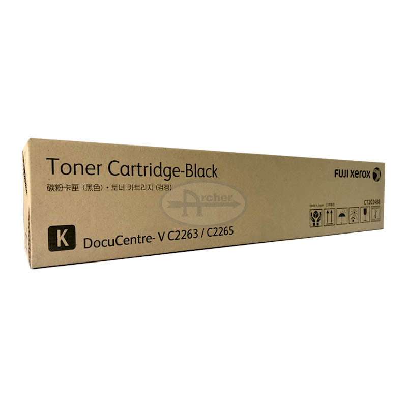 CT202488 Fuji Xerox Toner Cartridge for DC-V C2263 / C2265 (Black)