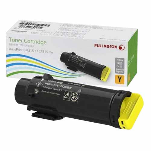 CT202613 Fuji Xerox Toner Cartridge for DocuPrint CM315z/CP315dw (Yellow)