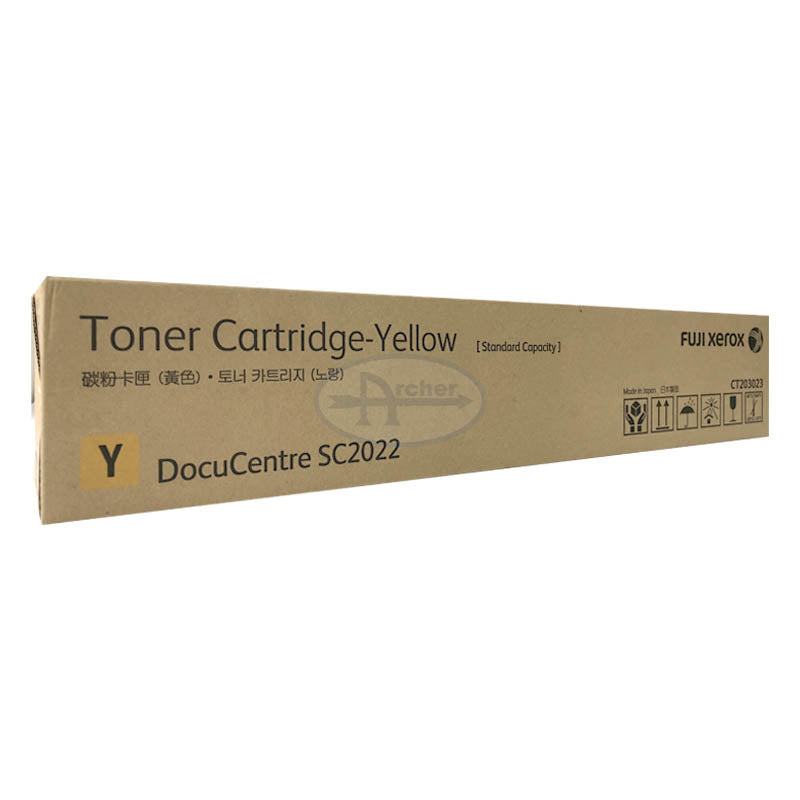 CT203023 Fuji Xerox Toner Cartridge for DocuCentre SC2022 (Yellow)