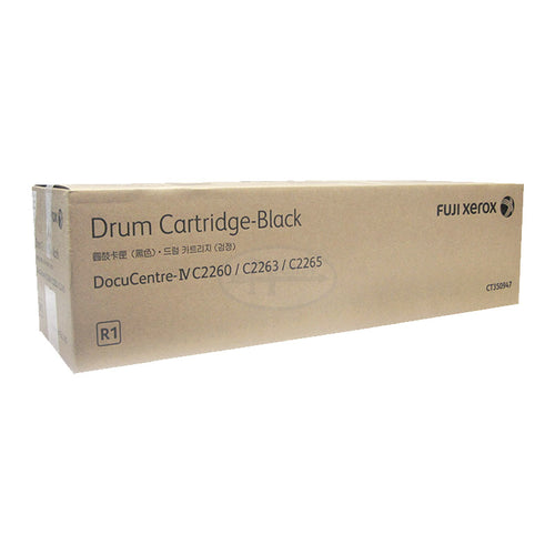 CT350947 Fuji Xerox Drum Cartridge for IV DC2260 / 2263 / 2265 Black (R1)
