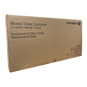 CWAA0885 Fuji Xerox Wast Toner Container for DC-V C2263 / C2265 , DC-VI C2264