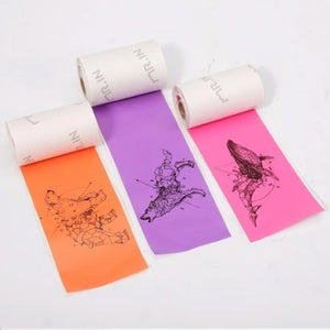 Colourful Stickers Thermal Paper Purple/Rose/Orange