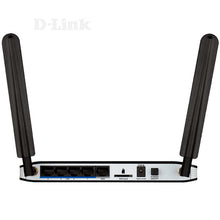 Load image into Gallery viewer, D-Link DWR-921 3G 4G LTE SIM Slot 10/100 LAN WiFi Wireless N Router