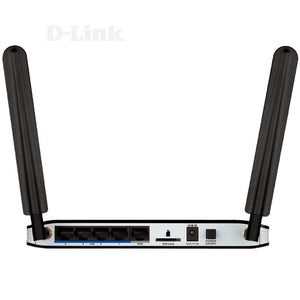 D-Link DWR-921 3G 4G LTE SIM Slot 10/100 LAN WiFi Wireless N Router