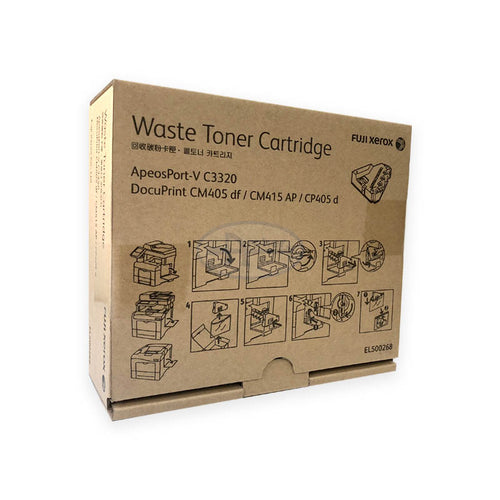 EL500268 Fuji Xerox Waste Toner Cartridge for AP-V : C3320 , Docuprint : CM405DF / CM415AP / C405D