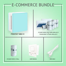 Load image into Gallery viewer, Printeet M02 E-Commerce Bundle Package I Portable Thermal Printer