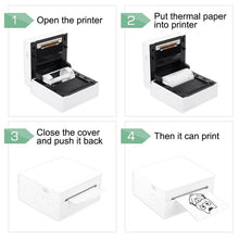 Load image into Gallery viewer, Portable Thermal Printer I Printeet M02 (Matt Black)