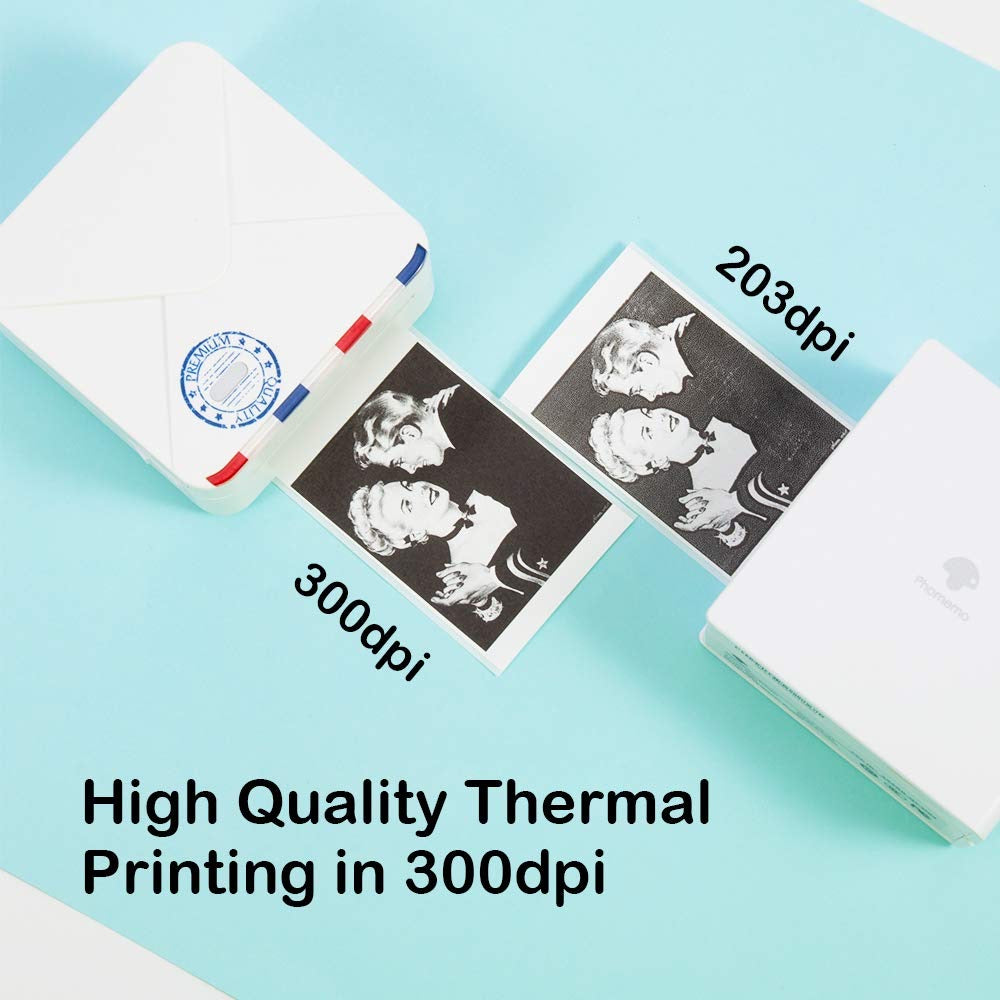 Mini Portable Thermal Printer I Printeet M02s